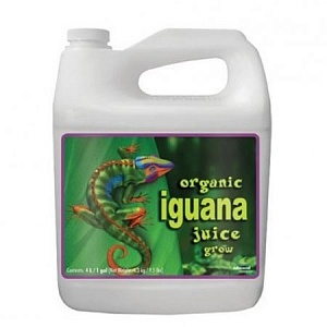 Advanced Nutrients Органическое удобрение Iguana Juice Organic Grow - фото 1